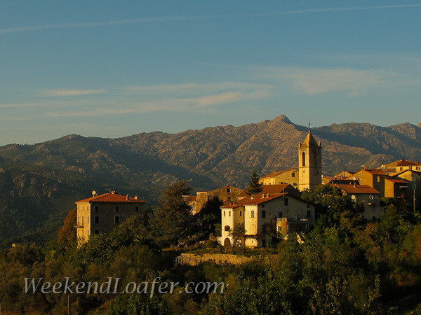 Neighboring village Auccia, a short walk to  Carbuccia